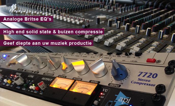 opnamestudio mixing